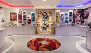 Show Room Gourmet com decoração inovadora e provocante