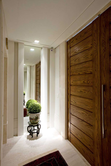 decoracao de interiores hall de entrada:da arquiteta e design de interiores Débora Aguiar, foi projetado de