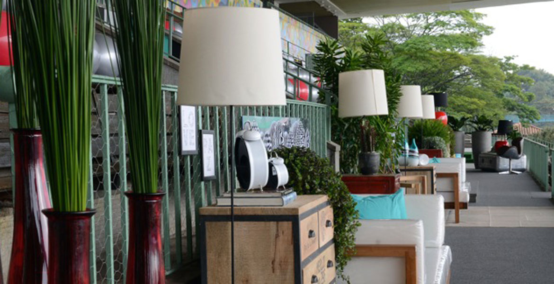 Ideias de decoração para área social