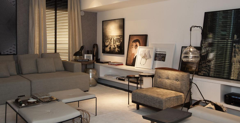 Inspirado na história e origem dos lofts que surgiram em Nova York na década de 70, a arquiteta Francisca Reis criou o home theater da Casa Cor 2014.