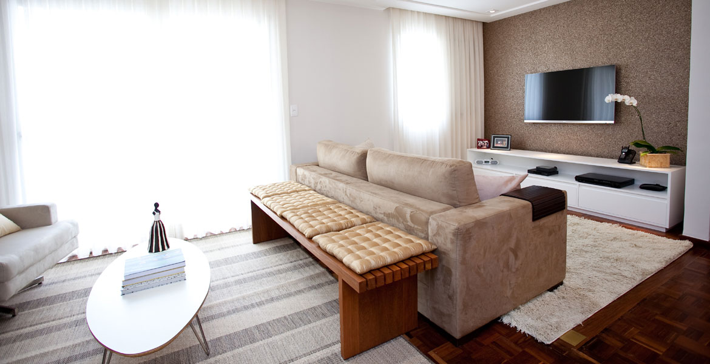 Reforma deixa apartamento amplo e moderno
