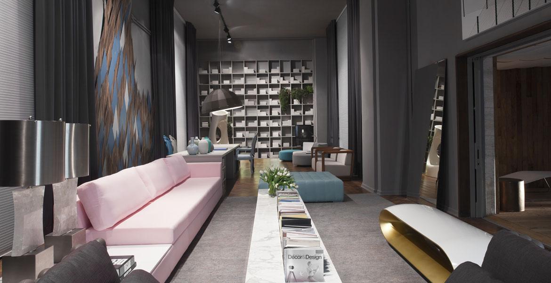 O arquiteto Francisco Calio projetou para a Casa Cor SP 2014 um Living e Spa,  onde os espaços se integram com dinamismo. O ambiente de 180m² traduz conforto, praticidade e elegância em áreas para receber e relaxar.