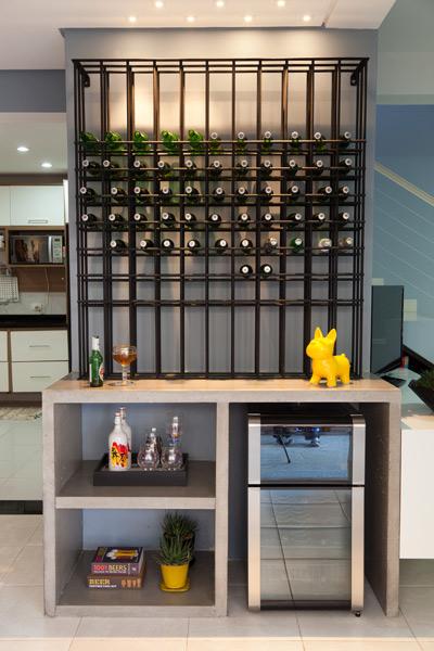 Decoração para adega e bar em casa
