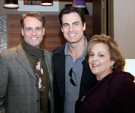 Bebel com Fernando Piva e Carlos Casagrande.