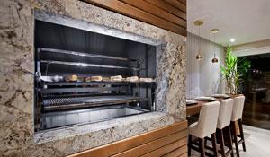 Decoração de churrasqueiras e espaço gourmet