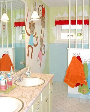Ideias para decorar banheiro infantil