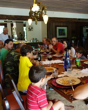 Dicas para um almoço em família agradável
