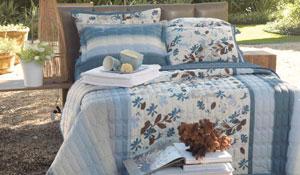Roupas de cama para a coleção primavera verão