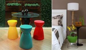 Móveis multifuncionais decoram e aproveitam espaços