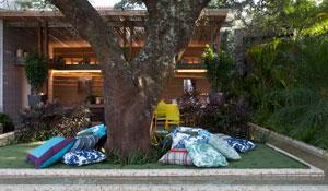 Elementos naturais compõem ambientes da Casa Cor SP 2015