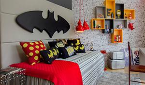 18 ambientes decorados com desenhos animados