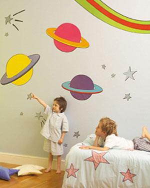 Decoração para espaços infantis