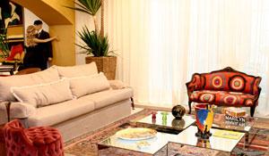 Conheça a Sala Conceito de Bya Barros na Casa Cor 2009