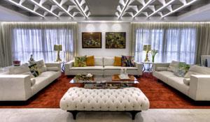 Projeto de decoração transforma 2 apartamentos em 1