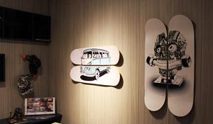 Skate na decoração