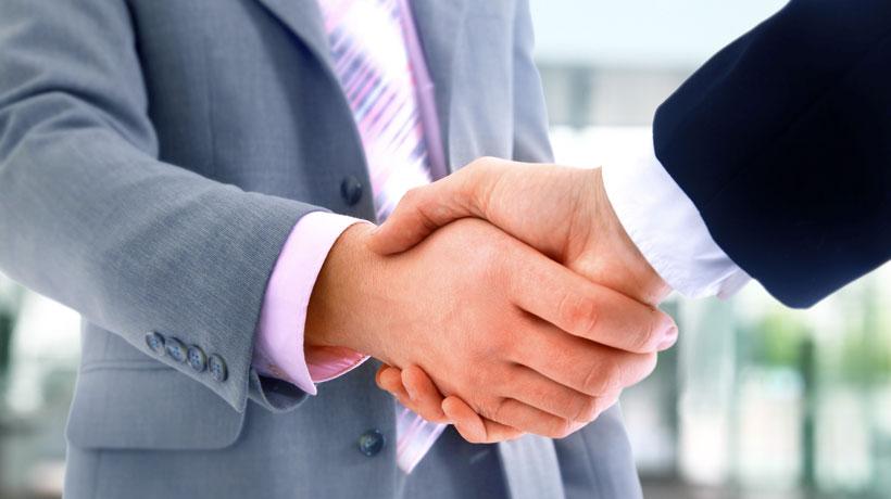 Estimule as relações comerciais