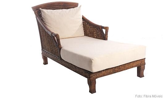 Chaise Florença, da Fibra Móveis