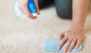 Como remover manchas de tapetes