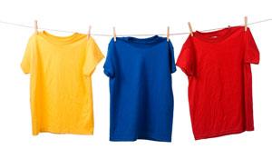 Dicas para lavar roupas coloridas