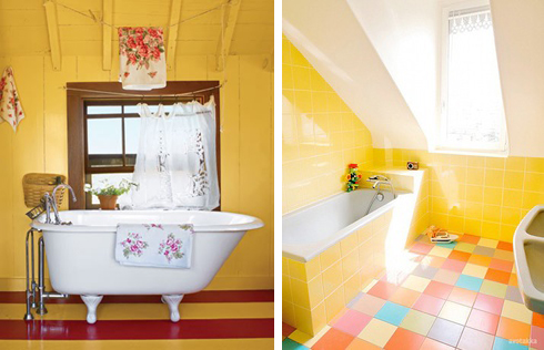 Fotos: 1 - apartmenttherapy.com; 2 - homeinspirationdesign.com