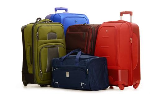 malas de viagem coloridas