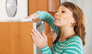 Como evitar pó em casa