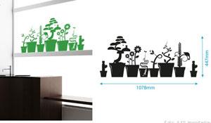 Adesivos de parede eco-friendly