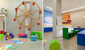 Espaços de recreação para crianças