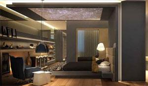 Arquitetas inovam em suítes e sala multiuso