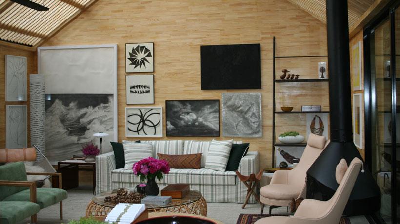 Sala de estar exposta na Mostra Black 2012