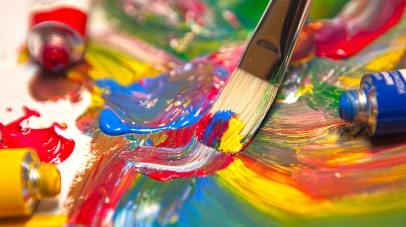 Cores transmitem criatividade