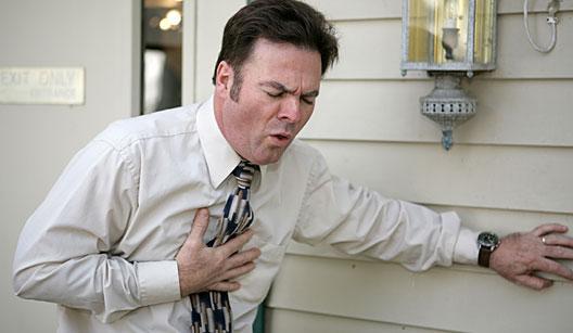 Os motivos da dor no peito