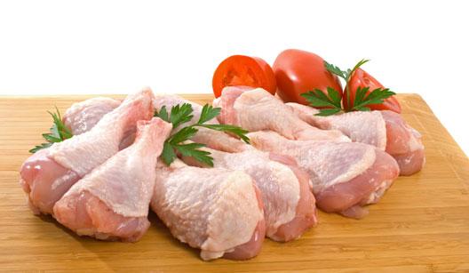 coxas de frango