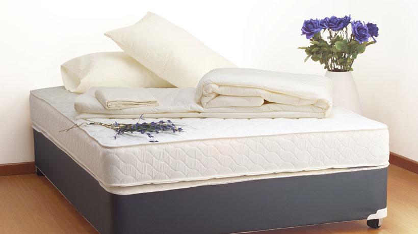 Colchão em cama box