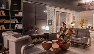 Lounge de entrada da Casa Cor SP 2014