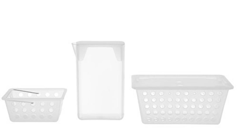 Kit organizador para lavanderia