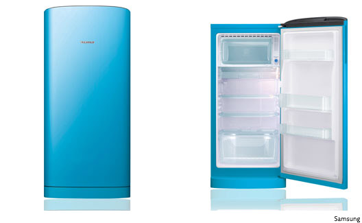 Refrigerador One Door RA21 azul
