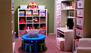Ideias para organização de brinquedos