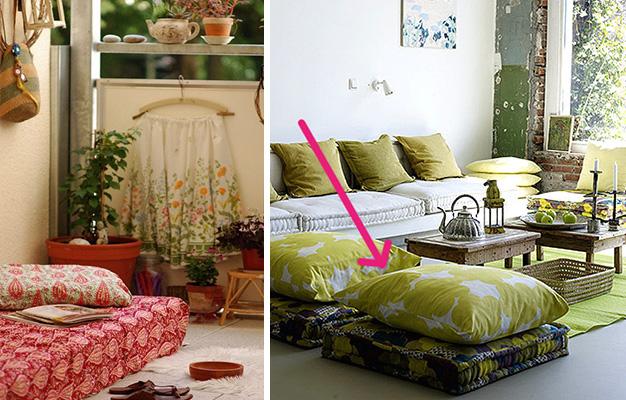 Foto: 1 - bohemiadesign.tumblr.com; 2 - apartmenttherapy.com