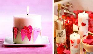 Ideias de decoração romântica