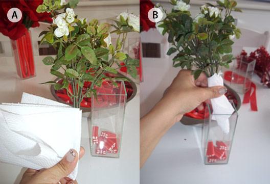 Flores e vaso