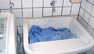 Limpeza da lavanderia com vinagre