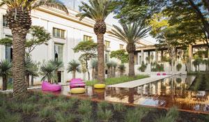 Jardins californianos inspiram praça