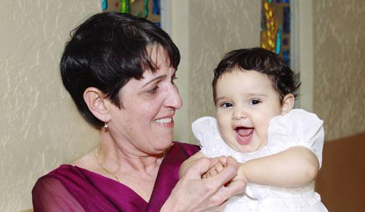Batismo com pais e padrinhos