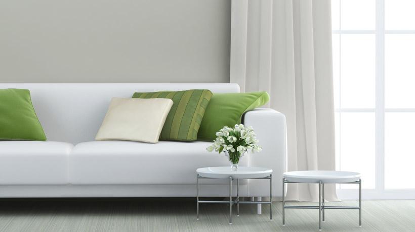 Sofá limpo e novo