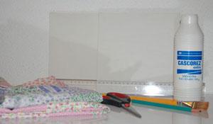 Aprenda a fazer quadros de tecido