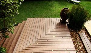 Escolha o material mais adequado para montar o seu deck