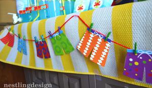 Ideias de decoração para uma festa na piscina