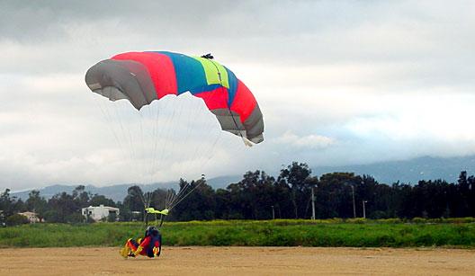 Paraquedismo nas cinco regiões do Brasil