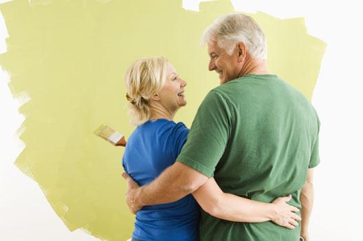 Reformar a casa pode unir o casal